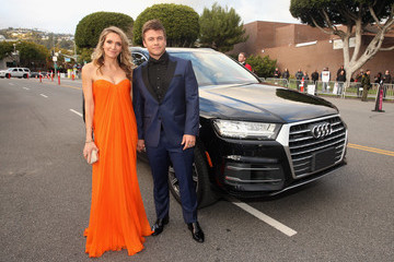 Luke Hemsworth Audi Arrives At The 25th Annual Elton John AIDS Foundation's Academy Awards Viewing Party