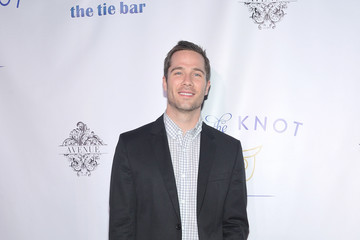 Luke MacFarlane Tie The Knot Spring Collection Launch Hosted By Jesse Tyler Ferguson, Justin Mikita & Thetiebar.com At Avenue In NYC - Arrivals