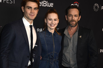 "Luke Perry KJ Apa The Paley Center For Media's 35th Annual PaleyFest Los Angeles - ""Riverdale"" - Arrivals"
