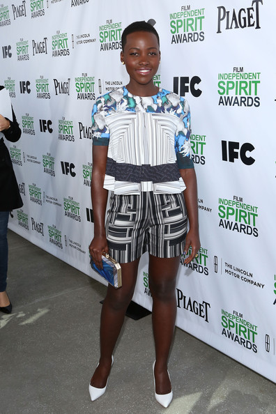 Lupita Nyong'o - 2014 Film Independent Filmmaker Grant And Spirit Awards Nominees Brunch - Red Carpet