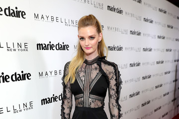 Lydia Hearst Marie Claire Celebrates 'Fresh Faces' with an Event Sponsored by Maybelline - Arrivals