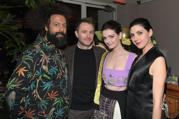 Lydia Hearst Chris Hardwick Esquire Celebrates March Issue's 'Mavericks of Hollywood' Presented by Hugo Boss
