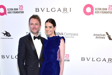 Lydia Hearst Chris Hardwick 26th Annual Elton John AIDS Foundation's Academy Awards Viewing Party - Arrivals