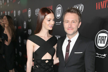 Lydia Hearst Chris Hardwick Vanity Fair And FIAT Young Hollywood Celebration - Red Carpet