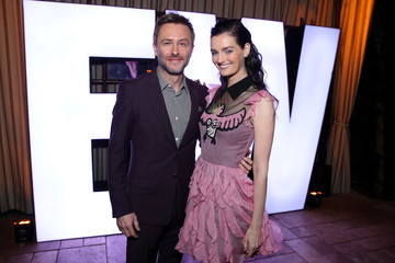 Lydia Hearst Chris Hardwick Entertainment Weekly Celebrates Screen Actors Guild Award Nominees at Chateau Marmont - Inside