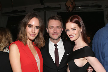 Lydia Hearst Chris Hardwick Vanity Fair and FIAT Young Hollywood Celebration - Inside