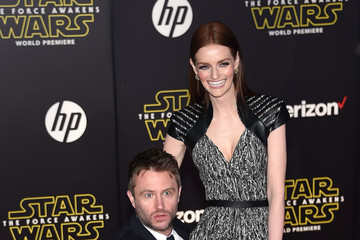 Lydia Hearst Premiere 'Star Wars: The Force Awakens' - Arrivals