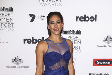 Lydia Lassila Women's Health I Support Women in Sport Awards
