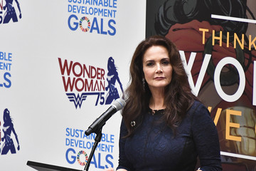 Lynda Carter 'Wonder Woman' UN Ambassador Ceremony