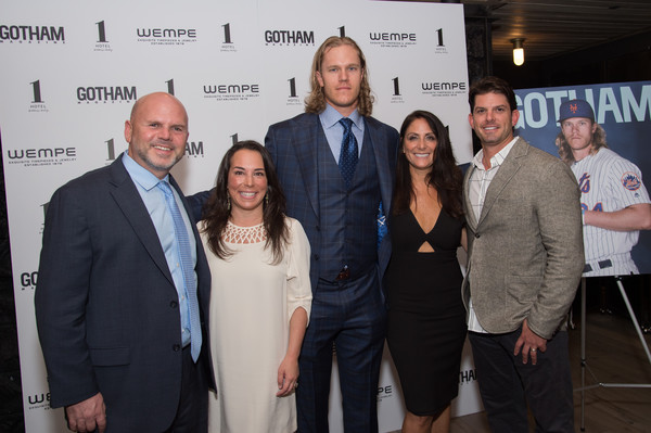 Gotham Magazine Celebrates Its Late Spring Issue with Noah Syndergaard in New York