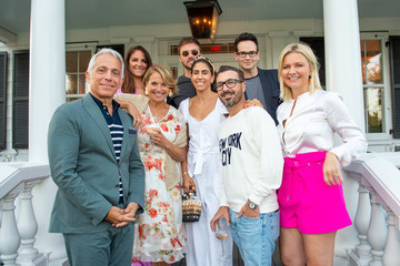 Lynn Scotti Katie Amato Hamptons Magazine Hosts A Sunday Supper Celebrating The Launch Of Hamptons Entertaining: A Collection Of Summer Recipes From Geoffrey Zakarian & Friends Presented By Chateau D'Esclans And Christofle