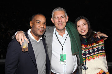 Lyor Cohen D'USSE VIP Riser at 'Rihanna: ANTI' World Tour - Brooklyn, New York