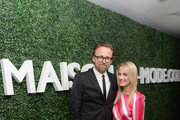 Joachim Ronning and Amanda Hearst attend MAISON-DE-MODE.COM Sustainable Style Gala  at Sunset Tower on February 23, 2019 in Los Angeles, California.