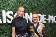 Petra Nemcova and Caroline Scheufele attend MAISON-DE-MODE.COM Sustainable Style Gala at Sunset Tower on February 23, 2019 in Los Angeles, California.