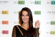 Ilaria Spada attends a photocall for the MAXXI Acquisition Gala Dinner 2016 at Maxxi Museum on November 7, 2016 in Rome, Italy.