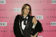 Cristina Parodi attends the MAXXI Gala Dinner photocall at Maxxi Museum on November 29, 2014 in Rome, Italy.