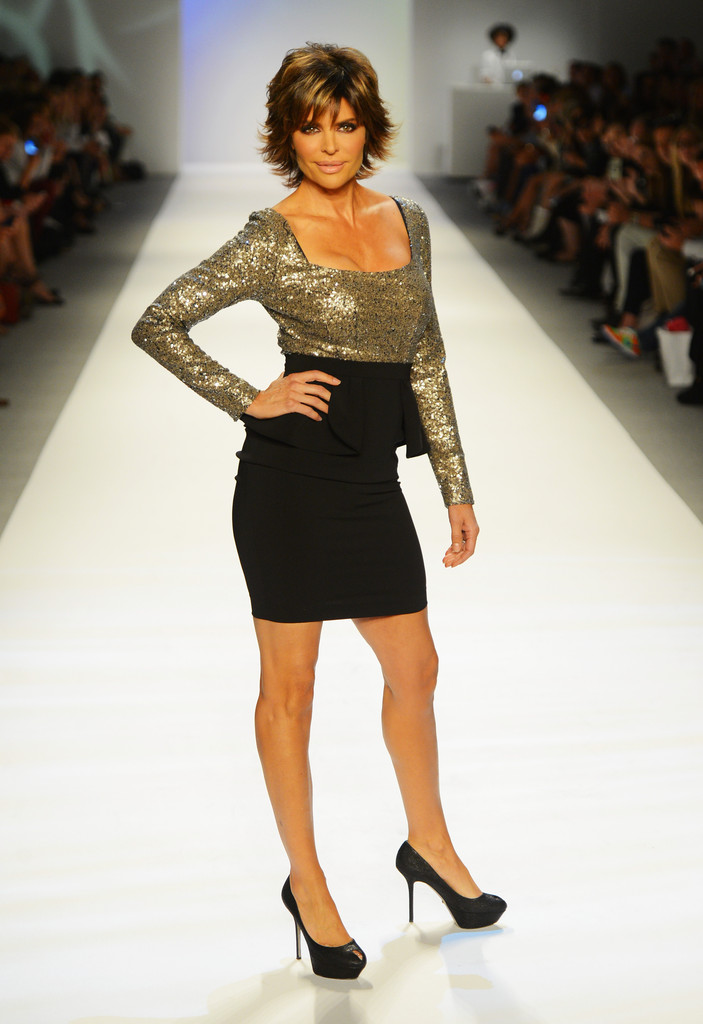 Lisa Rinna Photos Photos - MBFW Spring 2013 - Official ...