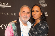 Udo Walz and Barbara Becker attend the MICHALSKY StyleNite 2015 at Ritz Carlton on July 10, 2015 in Berlin, Germany.
