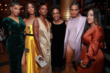 MJ Rodriguez Hailie Sahar Vanity Fair And FX's Annual Primetime Emmy Nominations Party