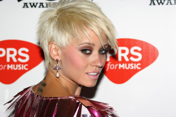 Kimberly Wyatt arrives at the MOBO Awards 2009 Nominations Launch at The Mayfair Hotel on August 26, 2009 in London, England. (Getty Images)more pics