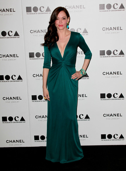 "Actress Rose McGowan arrives at ""The Artist's Museum Happening"" MOCA Los Angeles Gala held at MOCA Grand Avenue on November 13, 2010 in Los Angeles, California."