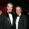 Pierce Brosnan Jeff Koons Photos