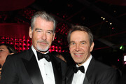 Pierce Brosnan Jeff Koons Photos Photo
