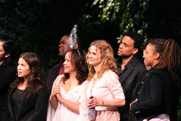 Rosie Perez Tracie Thoms MONTBLANC Presents the 10th Annual Production of The 24 Hour Plays on Broadway - Curtain Call