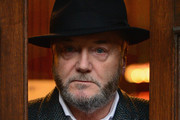 George Galloway MP poses for a portrait before speaking on independence at the Assembly Rooms on February 3, 2014 in Edinburgh, Scotland. Respect Party MP for Bradford West, will speak about his opposition to Scottish independence this evening as part of his Just Say Naw tour.