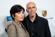 Marilyn Katzenberg and Jeffrey Katzenberg attend MPTF's 8th annual Reel Stories, Real Lives event at Directors Guild Of America on November 04, 2019 in Los Angeles, California.