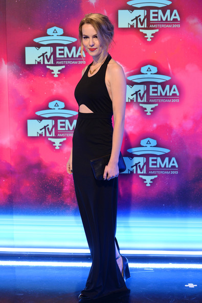Bridgit Mendler attends the MTV EMA's 2013 at the Ziggo Dome on November 10, 2013 in Amsterdam, Netherlands.