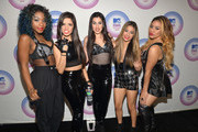 Fifth Harmony attends the 2014 MTV EMA Kick Off at the Klipsch Amphitheater on November 9, 2014 in Miami, Florida.