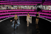 In this screengrab released on November 08, Hosts Perrie Edwards,  Leigh-Anne Pinnock and  Jade Thirlwall of Little Mix present Tate McCrae at the MTV EMA's 2020 on November 01, 2020 in London, England. The MTV EMA's aired on November 08, 2020.