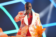 Akon performs on stage during the MTV EMAs 2019 at FIBES Conference and Exhibition Centre on November 03, 2019 in Seville, Spain.