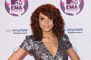 Jade Thompson attends the MTV Europe Music Awards 2011 at the Odyssey Arena on November 6, 2011 in Belfast, Northern Ireland.