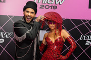 Hugo Gloss and Sabrina Sato attends the MTV MIAW 2019 at Credicard Hall on July 3, 2019 in Sao Paulo, Brazil.