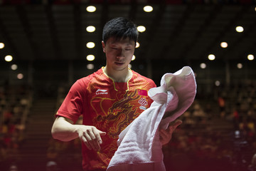 Ma Long Table Tennis World Championship - Day 7
