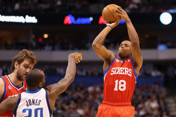Maalik Wayns Philadelphia 76ers v Dallas Mavericks