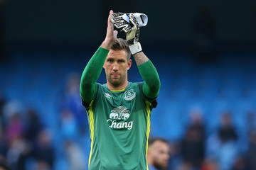 Maarten Stekelenburg Manchester City v Everton - Premier League