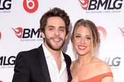 Thomas Rhett and Lauren Gregory attend the Big Machine Label Group Celebrates The 48th Annual CMA Awards in Nashville on November 5, 2014 in Nashville, Tennessee.