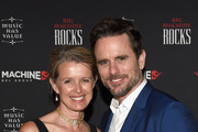 Patty Hanson (L) and actor/singer Charles Esten attend the 52nd Annual ACM Awards celebration with Big Machine Label Group at Sake Rok on April 2, 2017 in Las Vegas, Nevada.