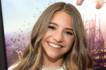 Mackenzie Ziegler The Weinstein Company's 'LEAP!' Premiere at The Grove in Los Angeles