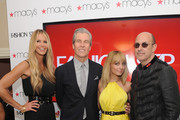 (L-R) Model Elle McPherson, Chairman, President and CEO of Macy's Terry J. Lundgren, TV personailty Nicole Richie and designer John Varvatos attend Macy's Celebrates NBC's New Primetime Series, Fashion Star, With Elle Macpherson, Nicole Richie And John Varvatos At Premiere Party at Macy's Herald Square on March 13, 2012 in New York City.