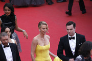 "(From L to R) Tom Hardy, Zoe Kravitz, Charlize Theron and Nicholas Hoult attend Premiere of ""Mad Max: Fury Road"" during the 68th annual Cannes Film Festival on May 14, 2015 in Cannes, France."