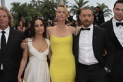 "Zoe Kravitz,Charlize Theron, Tom Hardy and Nicholas Hoult attend Premiere of ""Mad Max: Fury Road"" during the 68th annual Cannes Film Festival on May 14, 2015 in Cannes, France."