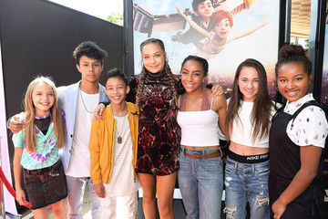 Maddie Ziegler The Weinstein Company's 'LEAP!' Premiere at The Grove in Los Angeles