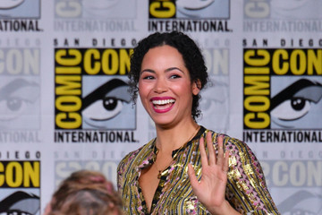 Madeleine Mantock Comic-Con International 2018 - SYFY WIRE Hosts The Great Debate