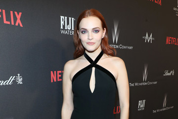 Madeline Brewer The Weinstein Company and Netflix Golden Globes Party Presented With FIJI Water