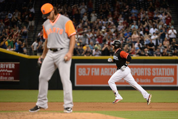 Madison Bumgarner San Francisco Giants v Arizona Diamondbacks