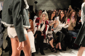 Madison Guest TRESemme at Rebecca Minkoff Mercedes-Benz Fashion Week Fall 2015 - Backstage/Front Row